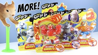 Heroes of Goo Jit Zu Toys Stretch Squishy Fillings Action Figs Moose