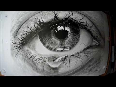 Utolsó Könnyek - Realisztikus Rajz / Last Tears - Realistic Drawing