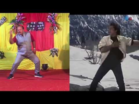 Dancing Uncle Vs Govinda   डब्बू अंकल के आगे तो फिल्म स्टार भी फेल हैं