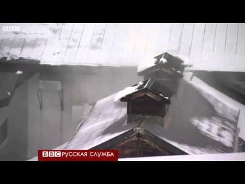 В Японии снега выпало 5 метров высотой