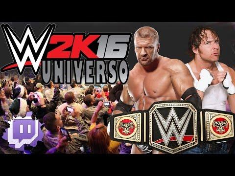 Universo WWE 2K16 (Twitch) - [35]
