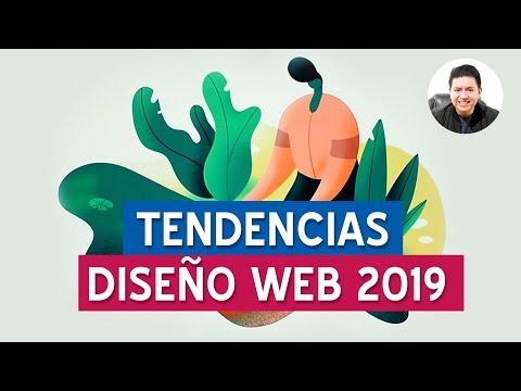 Tendencias en diseño web para 2019 #CafecitoConRivas