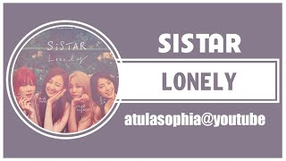 [Phiên âm Tiếng Việt] Lonely - Sistar