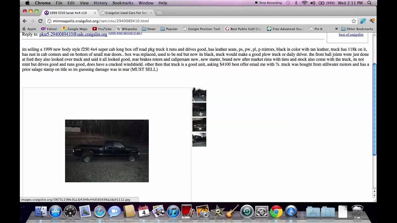 Craigslist Minneapolis MN - Used Cars and Trucks with Ford ...