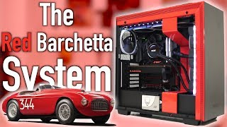 The Cleanest Build Of The Year - The Red Barchetta!