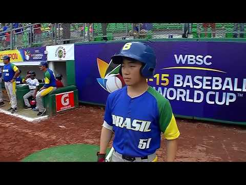 Brazil v Panama - U-15 Baseball World Cup 2018