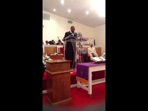 Pastor Lamont Johnson Sr.