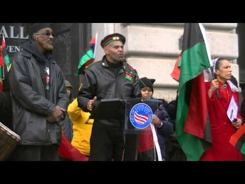 Black Man Army in Cleveland – Education is the key