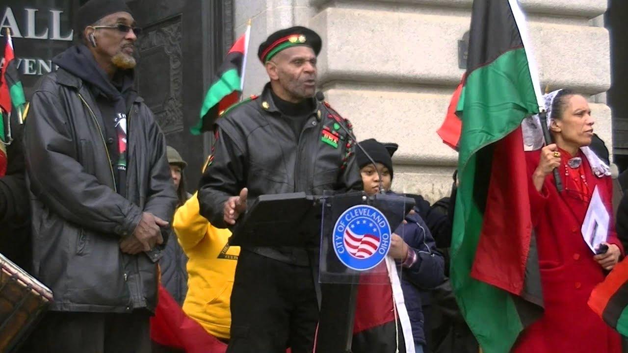 Black man army