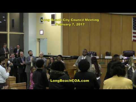 Regular Scheduled Long Beach City Council Meeting 02/07/17