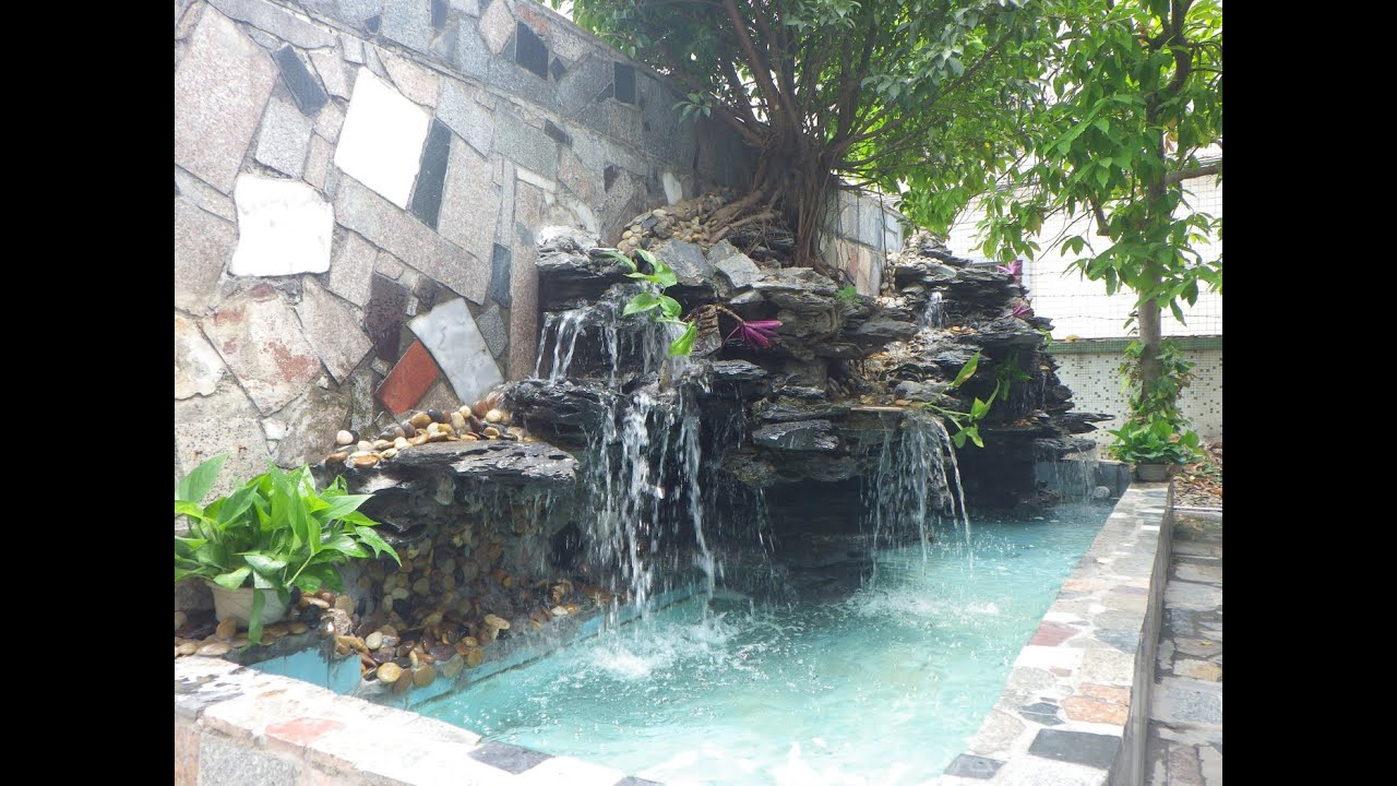 Build Your Own Waterfall Pond