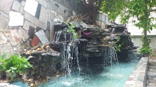 How to build a Waterfall and Koi pond
