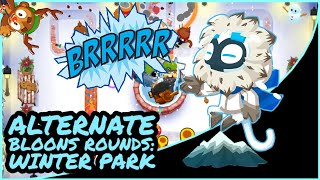 BTD6: Alternate Bloons Rounds Winter Park [No Monkey Knowledge]