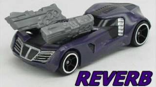 "#2-672 ""Reverb"" vs ""16 Angels"" vs ""Off Track"" Hot Wheels.wmv"