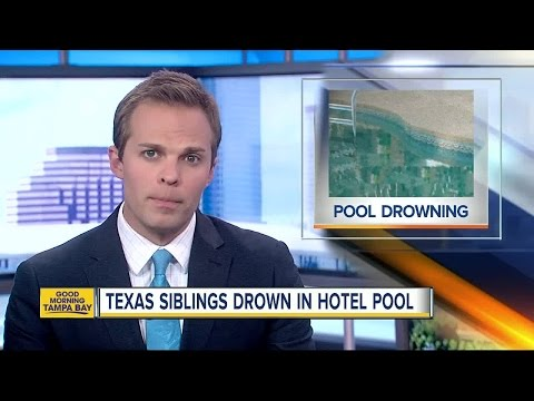Brother and sister visiting Tampa on church trip drown in hotel pool