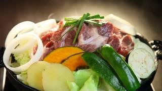 ジンギスカンが食べたくなる動画【北海あぶりやき】