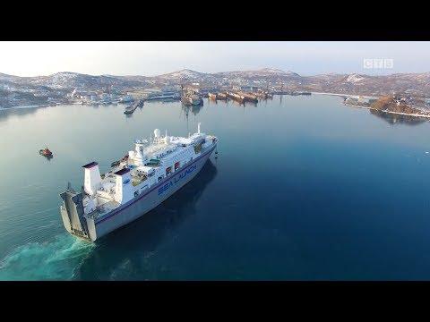 """Судно проекта """"Морской старт"""" прибыло из США в Славянку"""