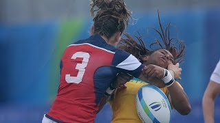 Women's Rugby | Best Hits, Tries & Highlights