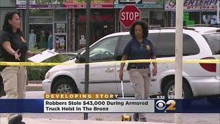 Daring Armored Car Robbery