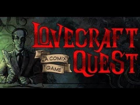 Lovecraft Quest - A Comix Game. Полное Проходждение.