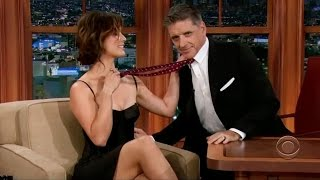 Berenice Marlohe is Turned on by Craig Ferguson's Accent