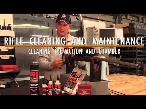 Rifle Cleaning and Maintenance | Cleaning the Action and Chamber