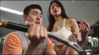 如此健身房!誰能專心健身??