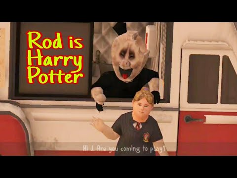Rod Is Harry Potter Full Gameplay (Ice Scream 2)