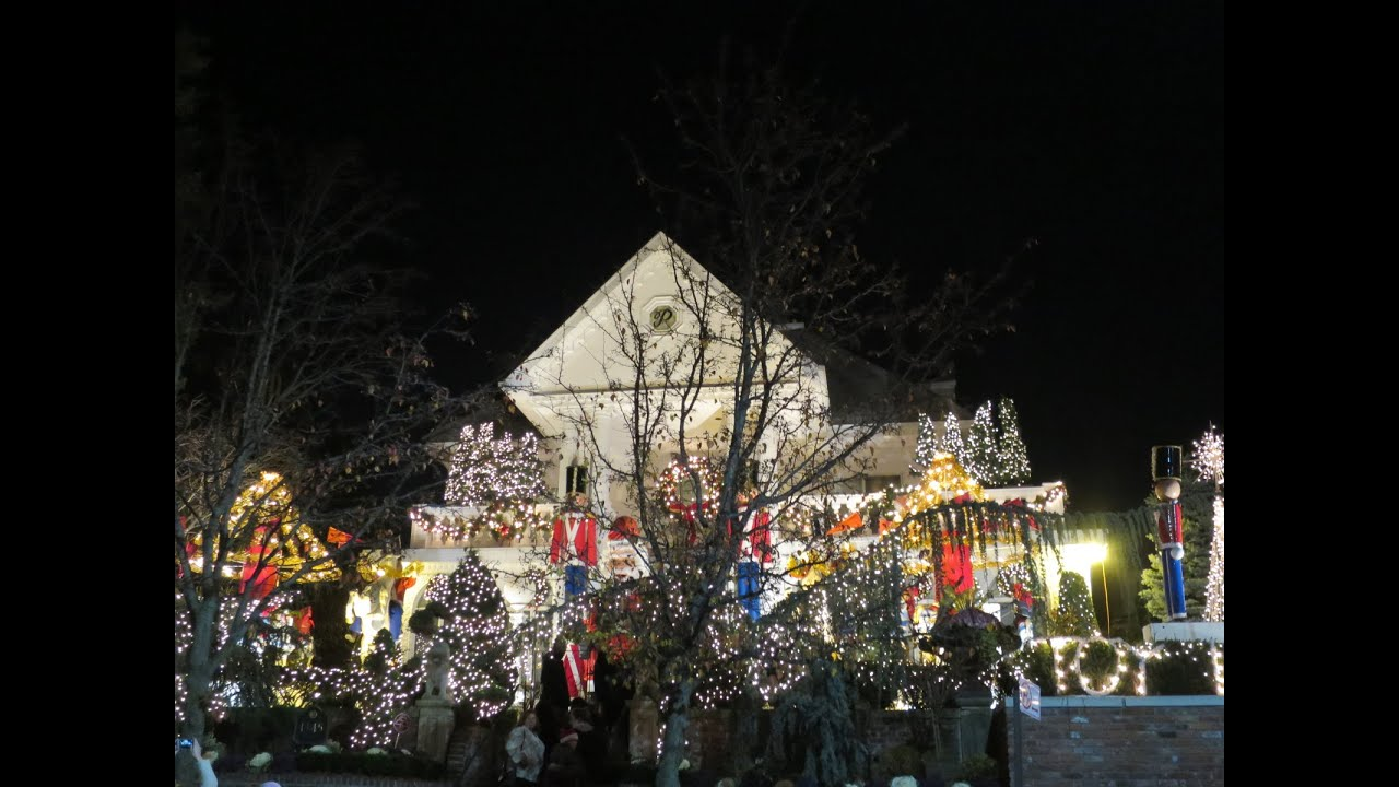 dyker heights christmas lights in brooklyn new york youtube - Christmas Lights In Brooklyn