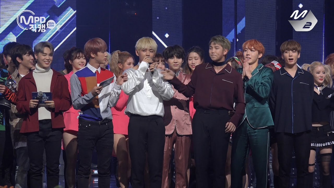 BTS Takes 1ST Again On MCOUNTDOWN With