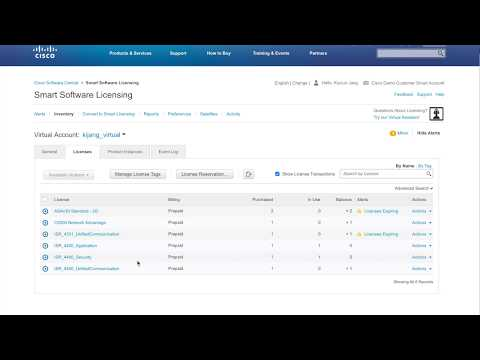 Cisco Smart license Traditional Licensing to Smart Licensing