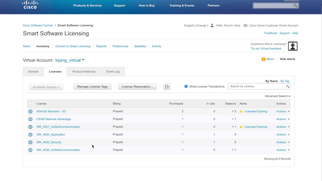 Cisco Smart license Traditional Licensing to Smart Licensing(DLC)