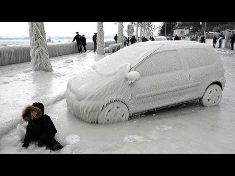 На Москву движутся чудовищные морозы