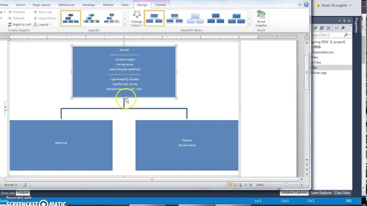 Zoo video 1 class diagram youtube zoo video 1 class diagram ccuart Image collections