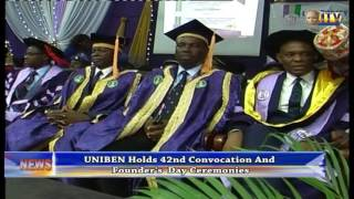 UNIBEN Holds 42nd Convocation And Founder's Day Ceremony