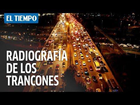 Radiografía de los trancones en Bogotá.