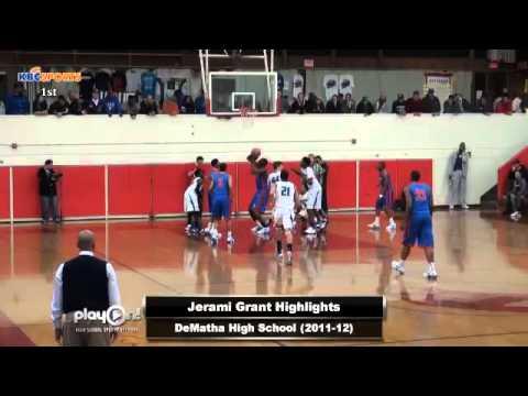 Syracuse Orange | Jerami Grant HS Highlights - YouTube