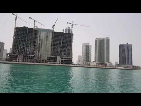 Journey by Boat from Moon Island to Abu Dhabi