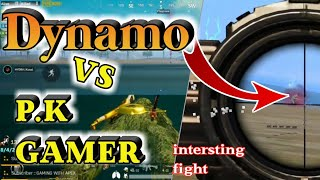 DYNAMO vs PK GAMER | intersting fight in last zone | Right side PK Left side Fan | best youtuber