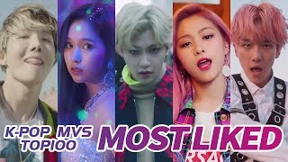 [TOP 100] MOST LIKED K-POP MV OF ALL TIME  • October 2019