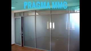 Перегородки от компании PRAGMA В БАКУ(, 2014-02-15T16:35:07.000Z)