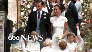 Repeat youtube video Royal family comes out for Pippa Middleton's wedding