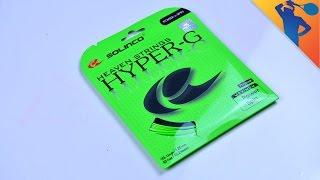 Solinco Hyper G Tennis String Review!