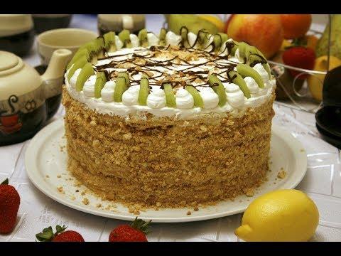 Торт Степашка.Из Старой Кулинарной Книги. #Торт #ТортСтепашка  Домашний ресторан®