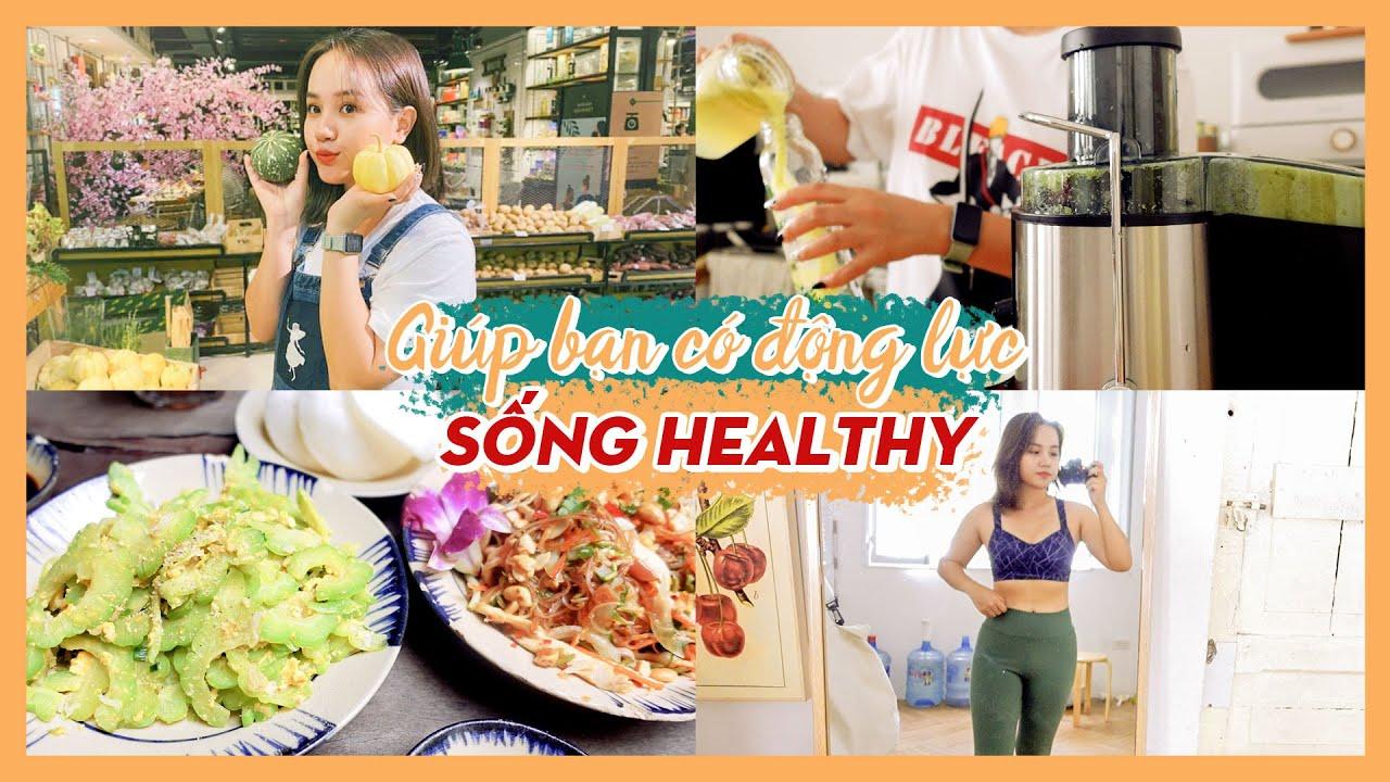 Cuộc sống của cô nàng độc thân #6: Mỗi ngày một chút Healthy | Châu Giang nè!