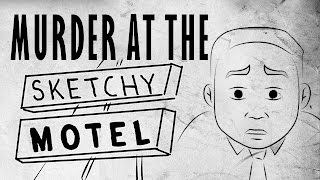 DON'T LOOK IN THE KEYHOLE THERE'S BEEN A MURDER! Sapphire tells a chilling murder story that takes place at a roadside motel. You better think twice ...