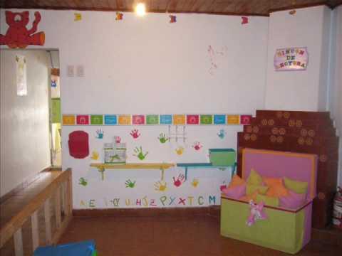 Rinc n de lectura en jard n maternal municipal n 2 for Decoracion jardin maternal