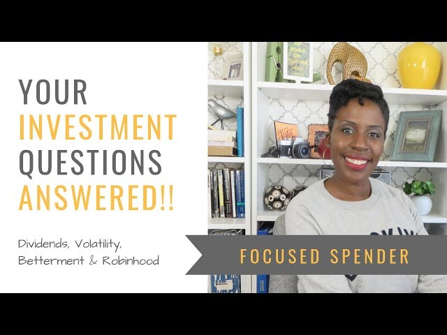What Are Dividends - and other investment questions answered!