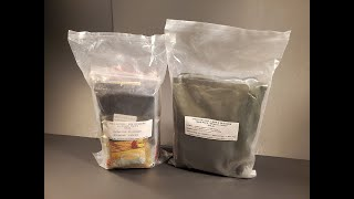 2018 Singapore 24 Hour Field Ration MRE Review Meal Ready to Eat Taste Testing