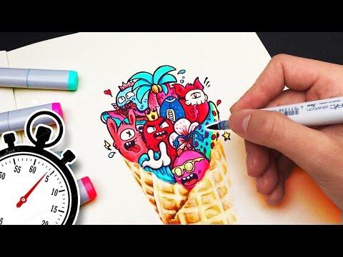 30 MINUTE ART CHALLENGE !!